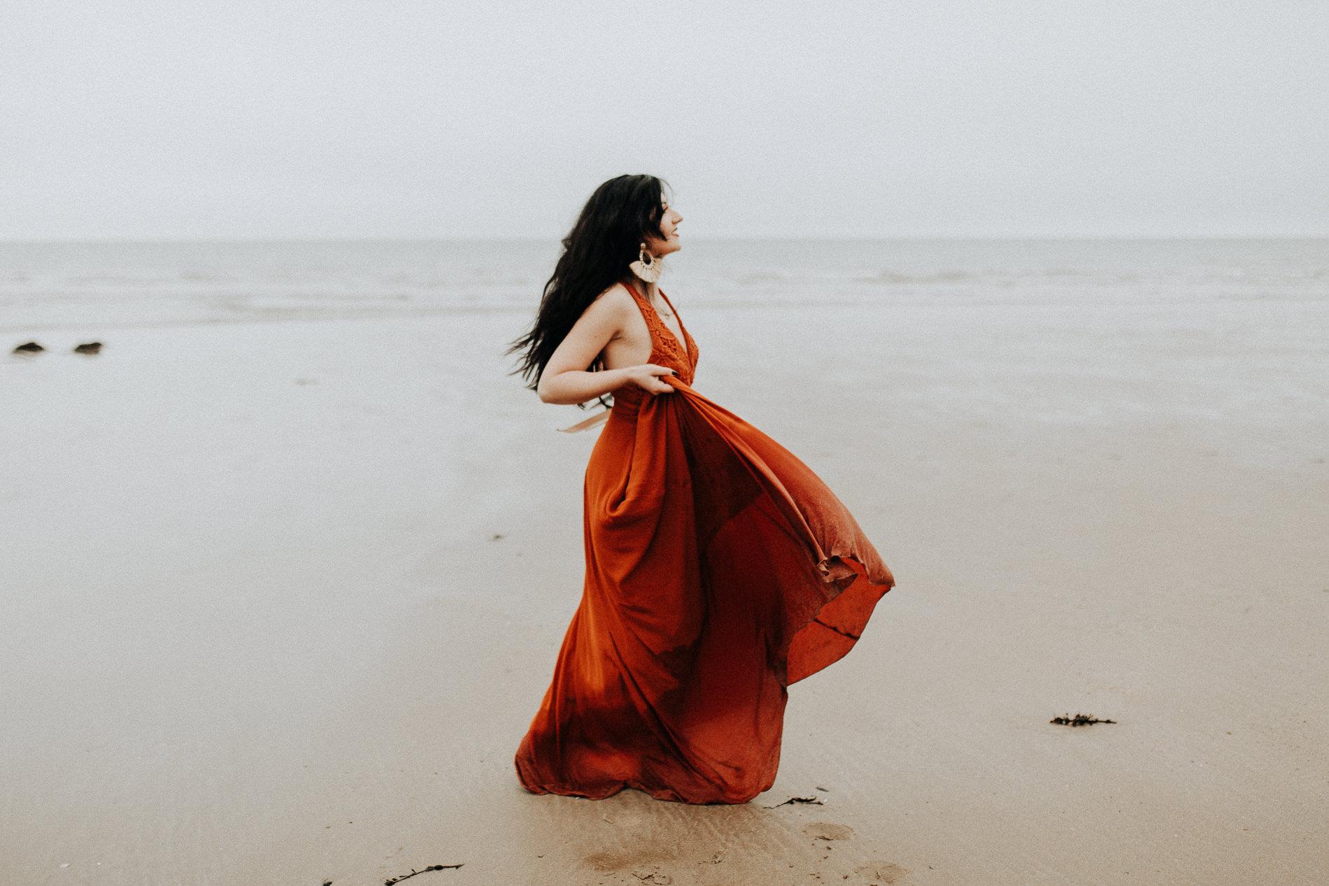 She's Like The Ocean; A Coastline Inspired Shoot